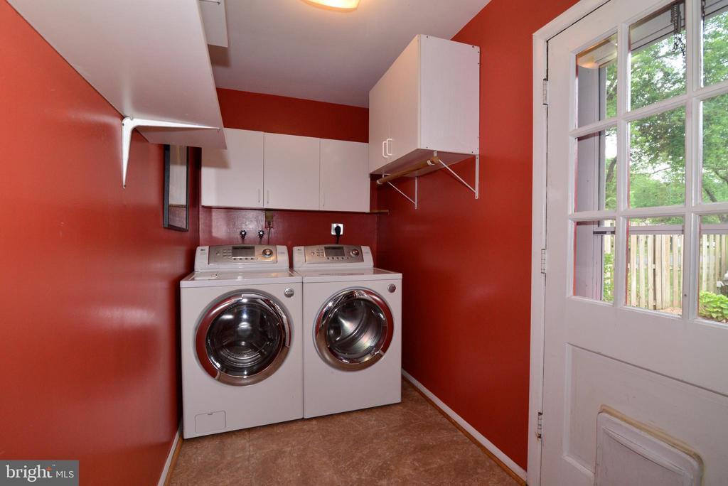 Laundry room - 4224 MAYLOCK LN, FAIRFAX