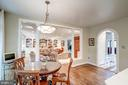 Open-concept kitchen/ family room - 9318 LUDGATE DR, ALEXANDRIA