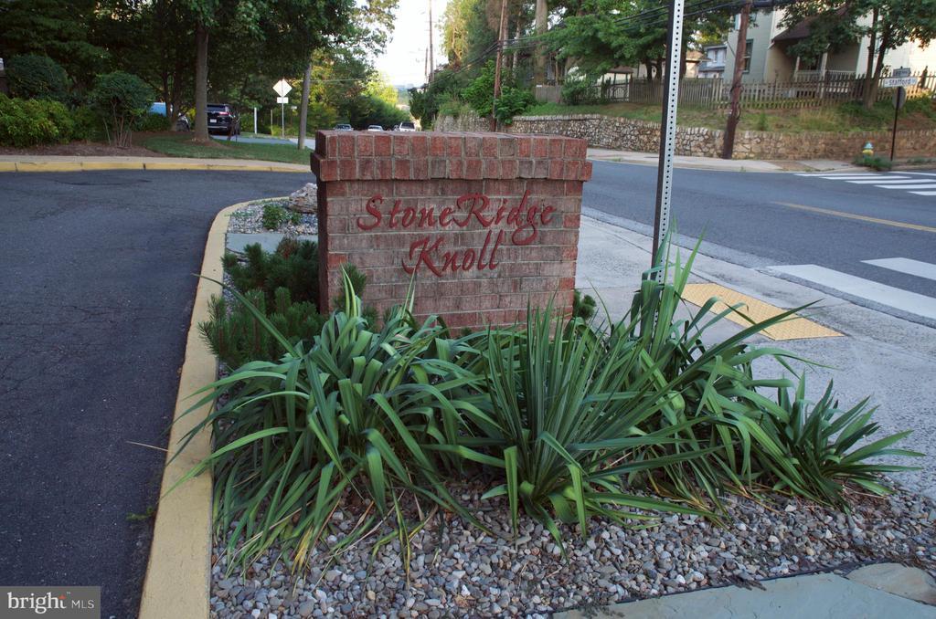 Front of Stoneridge Knoll - 4201 LEE HIGHWAY #404, ARLINGTON