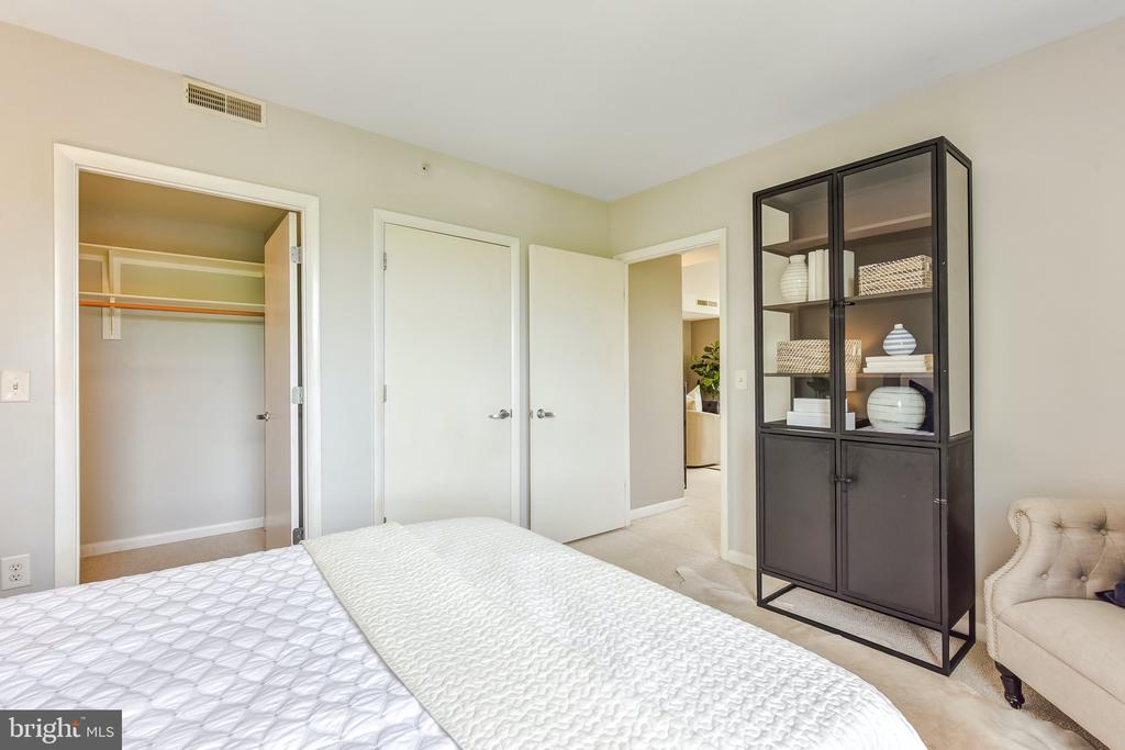 Master Bedroom with View of Walk-In Closet - 350 G ST SW #N501, WASHINGTON