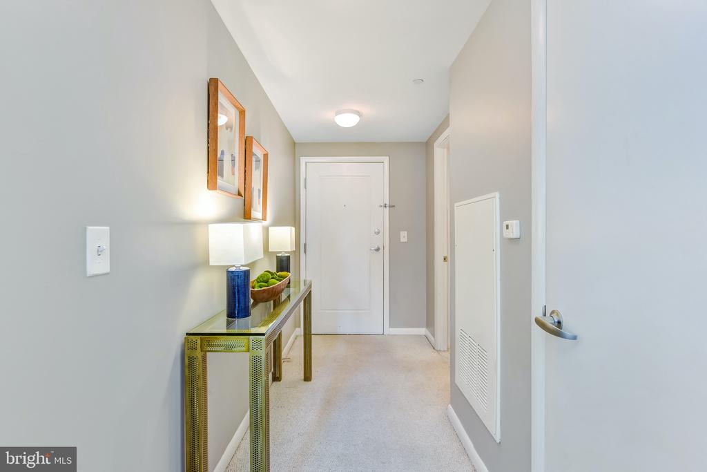 Warm, Inviting Entry - Welcome Home! - 350 G ST SW #N501, WASHINGTON