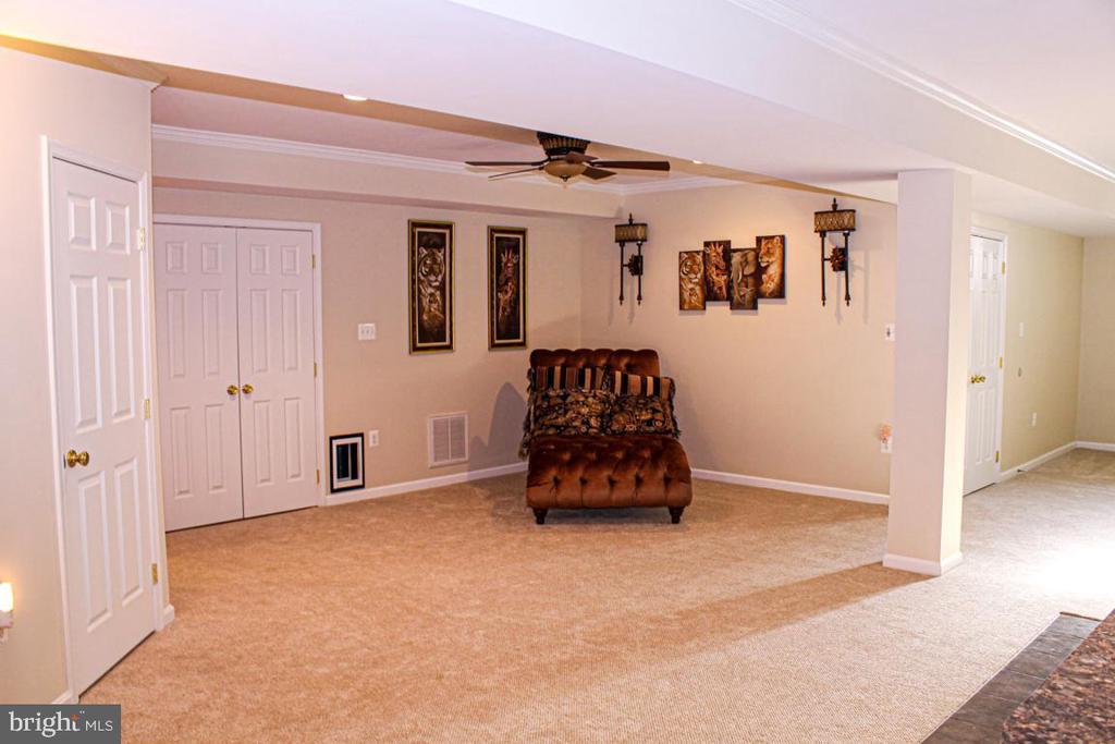 finished basement area - 3220 LACROSSE CT, DUNKIRK
