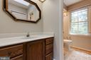 Master bathroom - 15138 HOLLEYSIDE DR, DUMFRIES