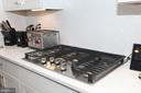 Kitchen Gas Cooktop - 13919 VERNON ST, CHANTILLY