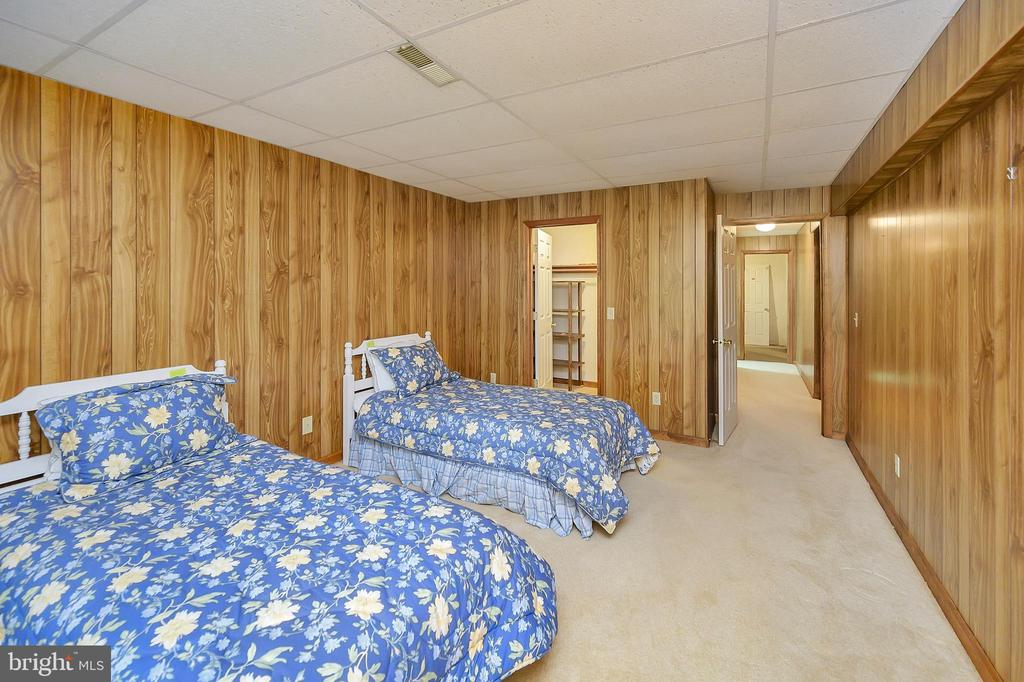 4th Bedroom in Basement with walk-in closet - 109 INDIAN HILLS RD, LOCUST GROVE