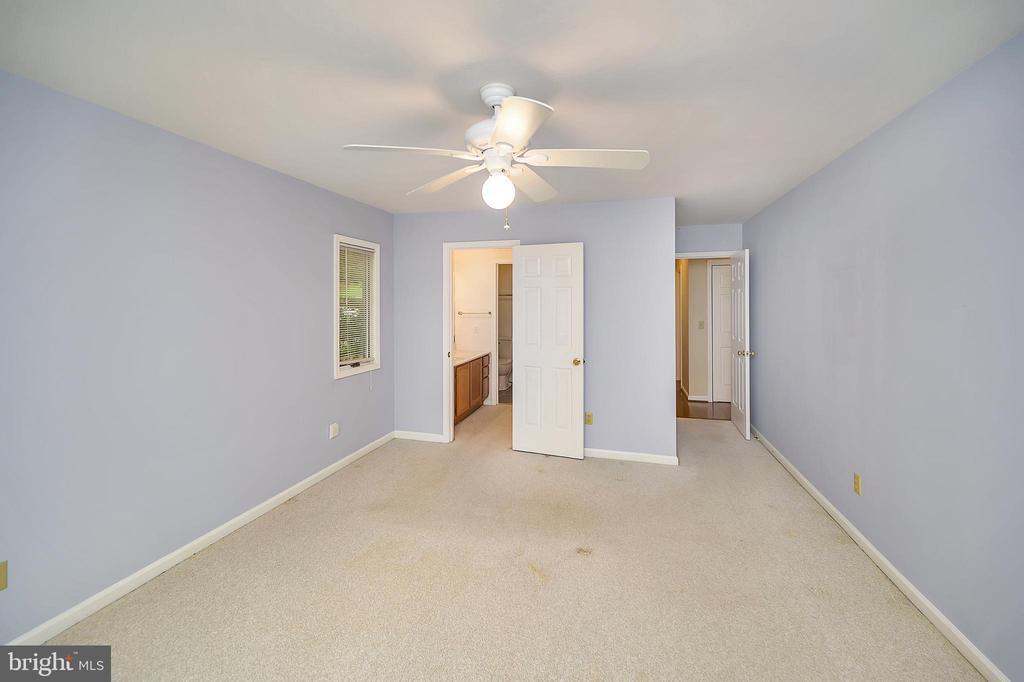 Master Bedroom from Sliding Glass Doors - 109 INDIAN HILLS RD, LOCUST GROVE