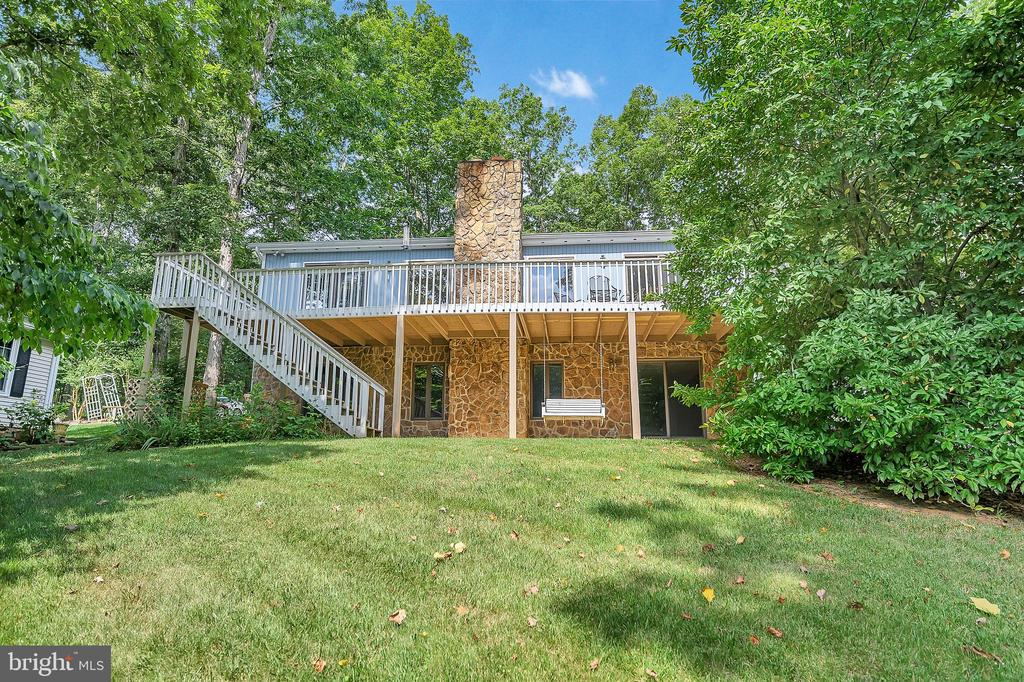 Rear View of the House - 109 INDIAN HILLS RD, LOCUST GROVE