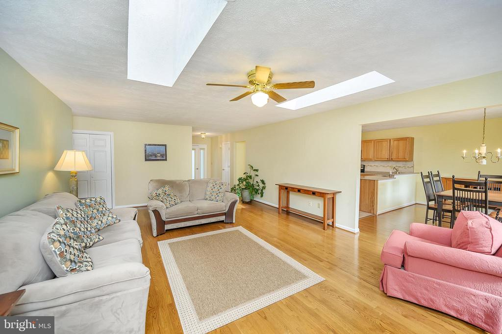 Great Room from next to the Fireplace - 109 INDIAN HILLS RD, LOCUST GROVE