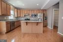Kitchen with Granite & Stainless Steel - 31 RUNYON DR, STAFFORD
