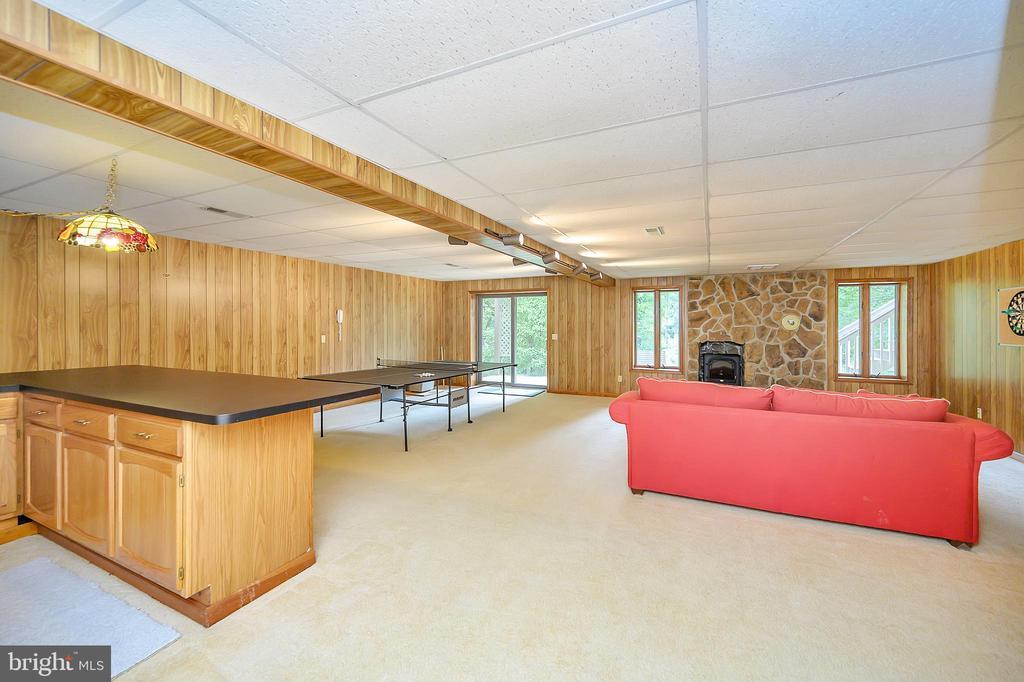 Huge Basement Recreation Room - 109 INDIAN HILLS RD, LOCUST GROVE