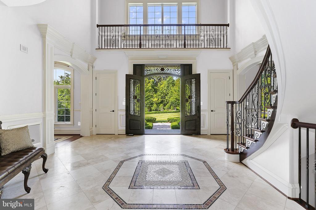Stunning Entrance Foyer - 8334 ALVORD ST, MCLEAN