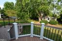 Trex balcony - 358 SUGARLAND MEADOW DR, HERNDON