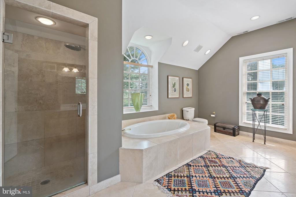 Master Bath - 230 MASONS LN SE, LEESBURG