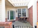 Patio at Front Courtyard - 44315 STABLEFORD SQ, ASHBURN