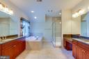 Owners' Bathroom - 9600 THISTLE RIDGE LN, VIENNA