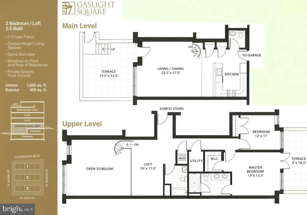 Floorplan - 1700-D CLARENDON BLVD #141, ARLINGTON