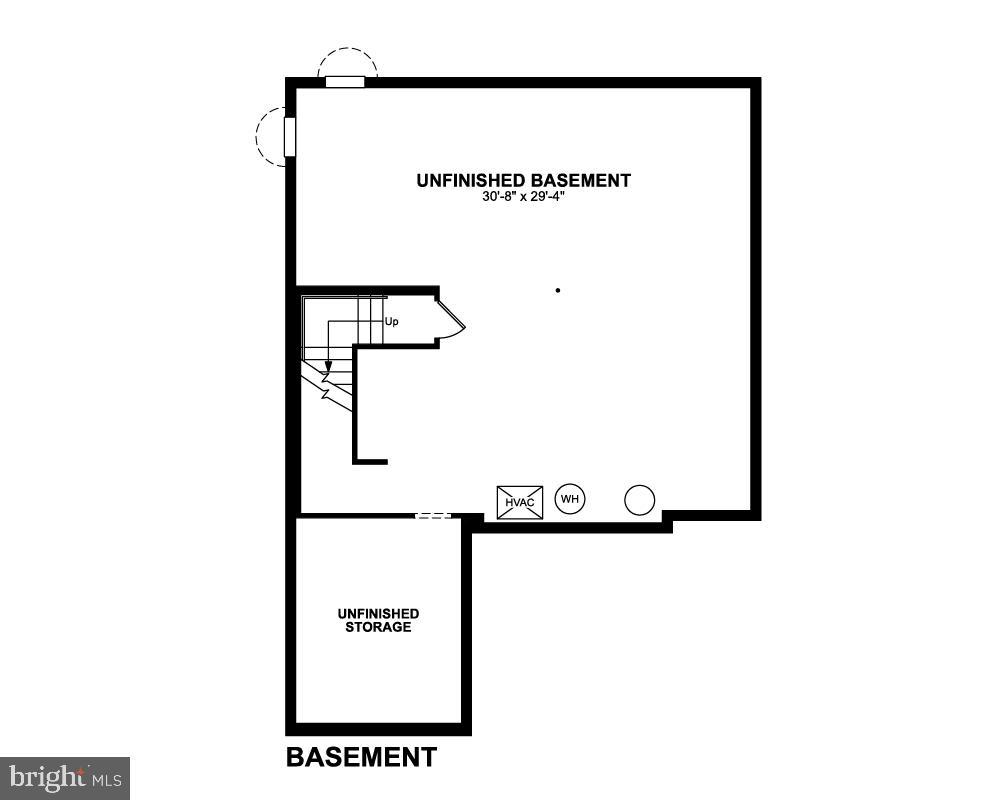 Basement - 7890 MEADOWLARK GLEN RD, DUMFRIES