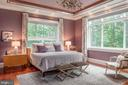Beautiful master bedroom with water views - 8205 ASHY PETRAL CT, SPOTSYLVANIA