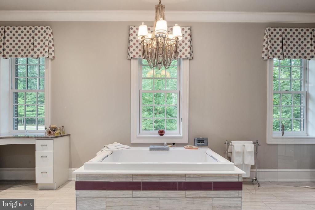 Spectacular master bathroom! - 8205 ASHY PETRAL CT, SPOTSYLVANIA