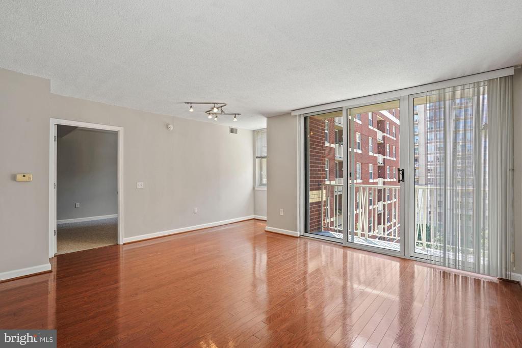 Hardwood Flooring with Bright Natural Light - 880 N POLLARD ST #701, ARLINGTON