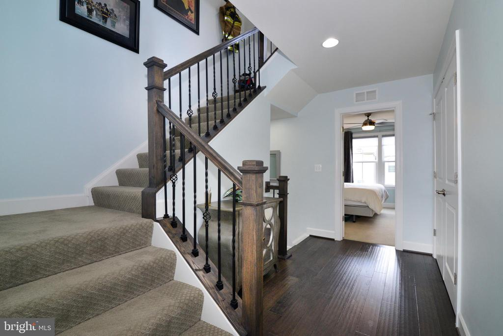 Stairs to 4th level - 6157 CAREY PARK LN, FALLS CHURCH