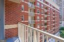 Private Balcony with Awesome View - 880 N POLLARD ST #701, ARLINGTON