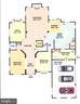 Main Level Floor Plan - 9600 THISTLE RIDGE LN, VIENNA