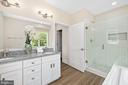 Double bowl sinks, sold close vanity - 133 HARRISON CIR, LOCUST GROVE