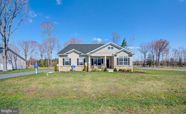 Single Family Homes pour l Vente à Lincoln, Delaware 19960 États-Unis