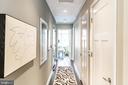 Hallway to bedrooms - 1610 N QUEEN ST #245, ARLINGTON