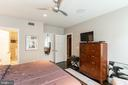 View in master to closet / master bath - 1610 N QUEEN ST #245, ARLINGTON