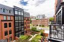 View off main balcony - 1610 N QUEEN ST #245, ARLINGTON