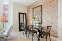 Exposed brick - 1745 N ST NW #208, WASHINGTON