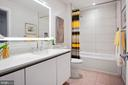 Guest, luxury bath - 1745 N ST NW #208, WASHINGTON