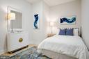 Guest bedroom - 1745 N ST NW #208, WASHINGTON