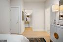 Owner's bedroom, en suite bath - 1745 N ST NW #208, WASHINGTON