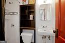 Full bath on the main - 1309 N GLEBE RD, ARLINGTON