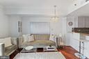 Open Layout Offers Distinct Areas for Living... - 777 7TH ST NW #1102, WASHINGTON