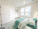 Gracious secondary bedroom - 43091 WYNRIDGE DR #301, BROADLANDS