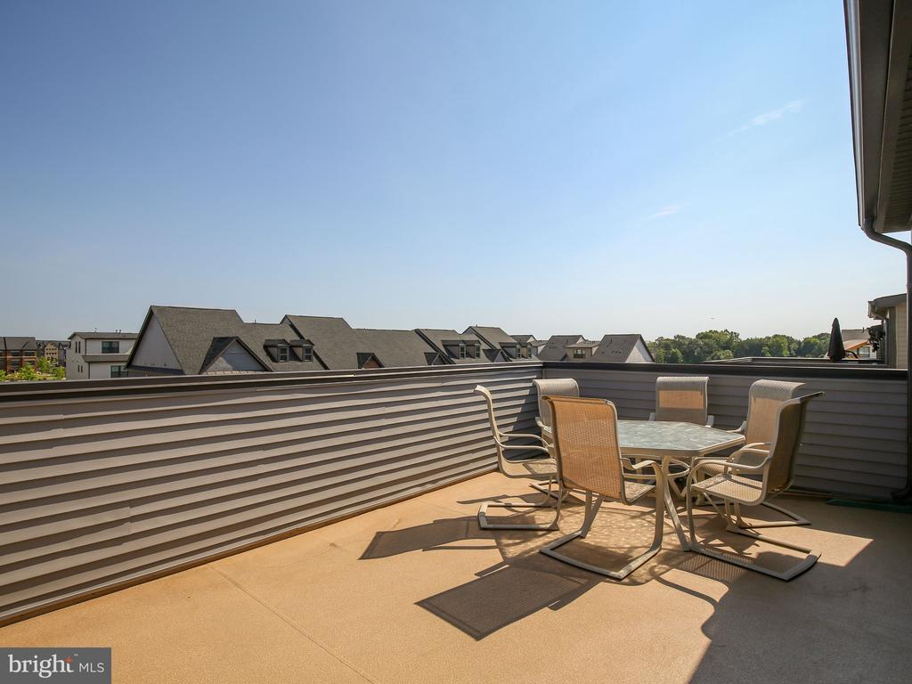 4th level terrace with beautiful views - 43409 SOUTHLAND ST, ASHBURN