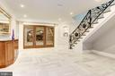 Lower Level Reception & Wine Cellar - 432 SPRINGVALE RD, GREAT FALLS