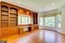 Beautiful Hardwoods in Library/ Office Area - 9600 THISTLE RIDGE LN, VIENNA