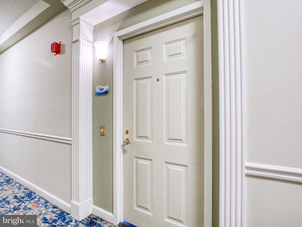 Door to your new home - 19375 CYPRESS RIDGE TER #804, LEESBURG