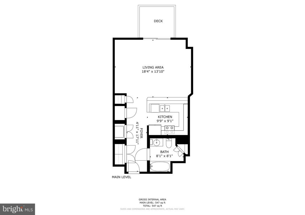 Layout That Lives Well - 777 7TH ST NW #1102, WASHINGTON