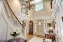 Two Story Entrance Foyer - 10 STANMORE CT, POTOMAC