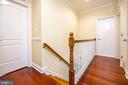 Hallway - 6662 BARRETT RD, FALLS CHURCH