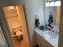 Updated vanity and bathroom! - 2311 PIMMIT DR #311, FALLS CHURCH