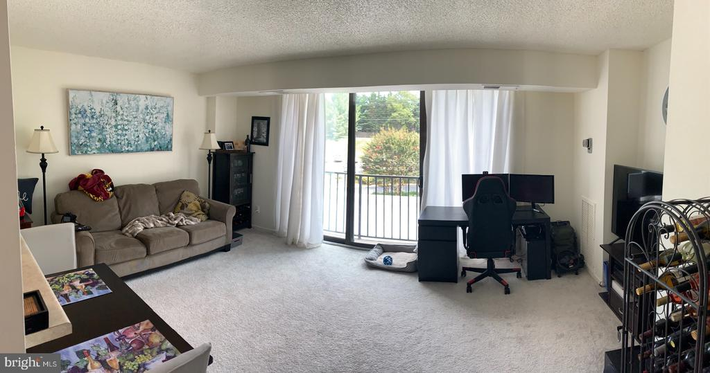 View from the door, pano - 2311 PIMMIT DR #311, FALLS CHURCH