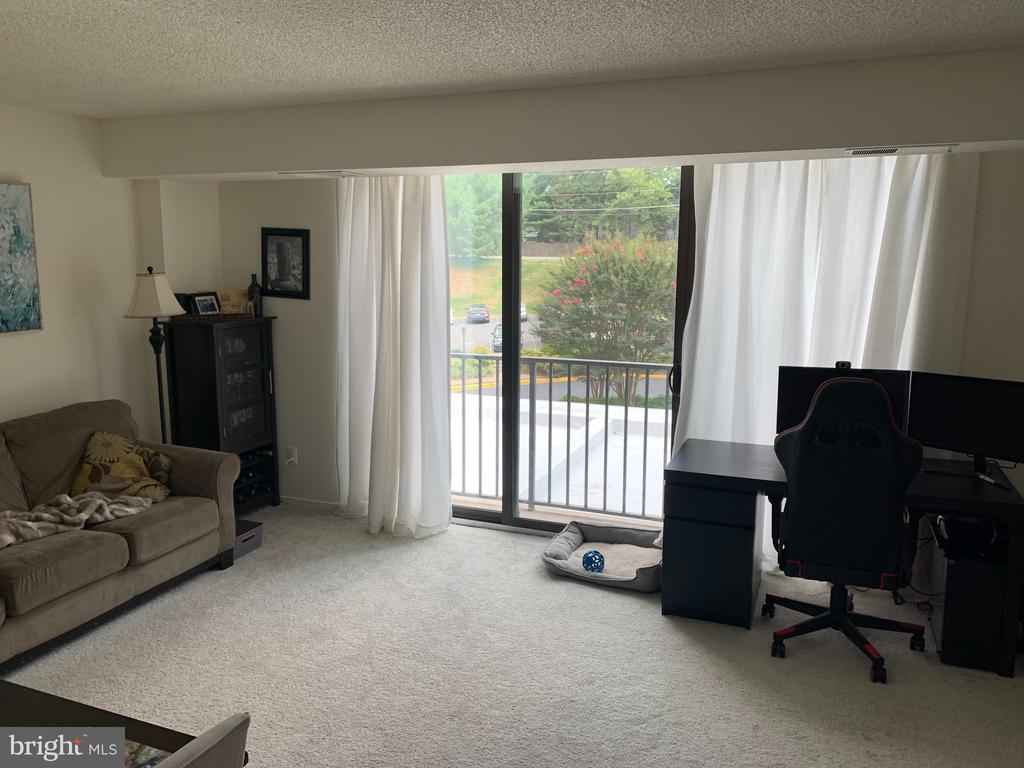 Spacious living room ! - 2311 PIMMIT DR #311, FALLS CHURCH