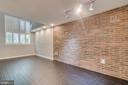 Faux Brick Walls - 1201 EAST WEST HWY #3, SILVER SPRING